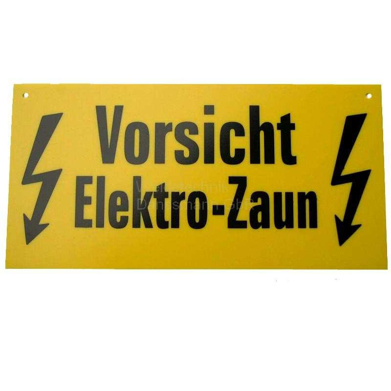 Zaun 5 Stück Weidezaun Warnschild  Vorsicht Elektro